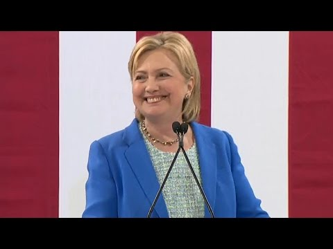 Watch: Hillary Clinton speaks in Portsmouth, New Hampshire