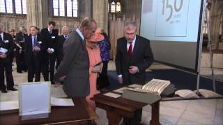 The Queen and The Duke of Edinburgh attend the 150th anniversary of the Royal College of Organists