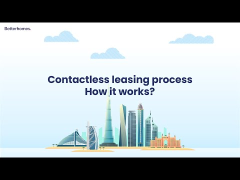 Contactless leasing process