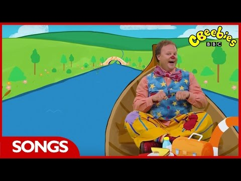 CBeebies: Something Special - Row, Row, Row Your Boat - Nursery Rhyme