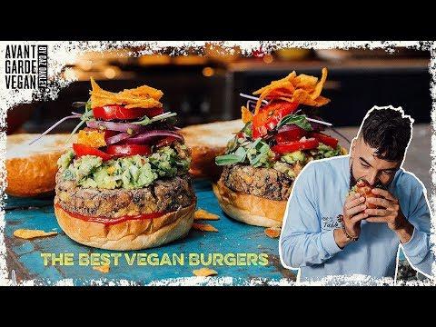 THE BEST VEGAN BEAN BURGERS.. high protein!