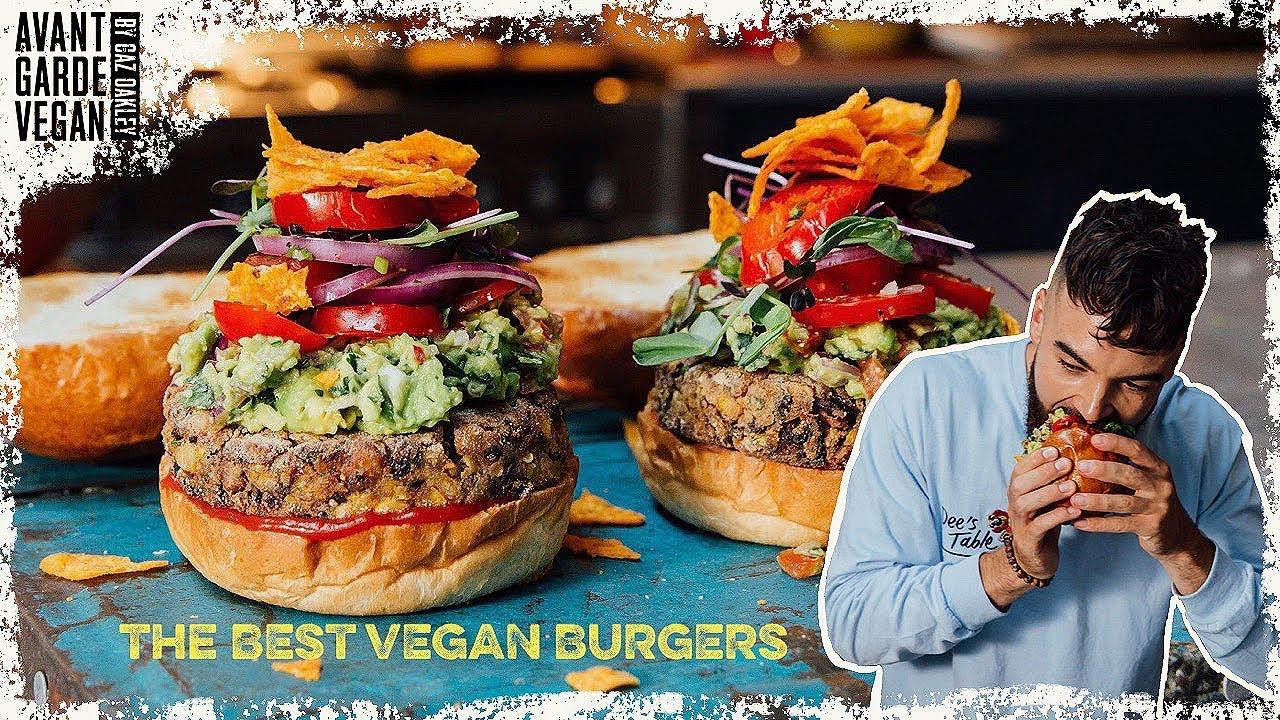 The Best Vegan Bean Burgers High Protein Youtube