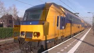 Trains at Gilze-Rijen station, NL 22/03/19