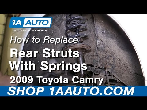 How to Replace Rear Struts 06-11 Toyota Camry