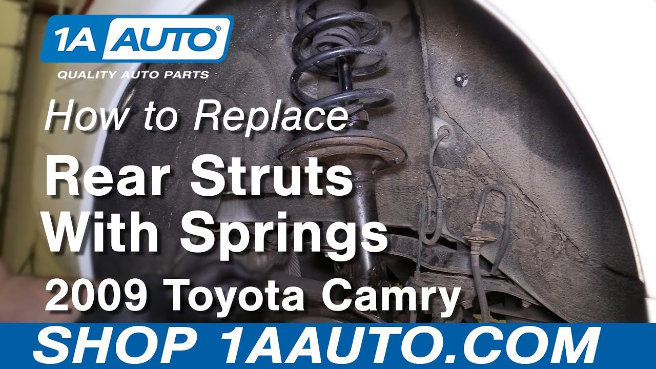 Download How to Replace Rear Struts 06-11 Toyota Camry