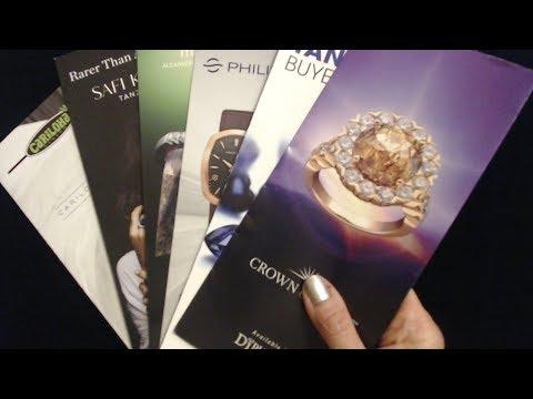 ASMR Whisper | Jewelry Brochures Show & Tell