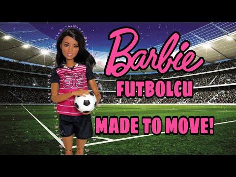 Barbie SONSUZ HAREKET | Türkiye'de İLK!  | Sürpriz Barbie Dönüşümü | Barbie Futbolcu MADE TO MOVE