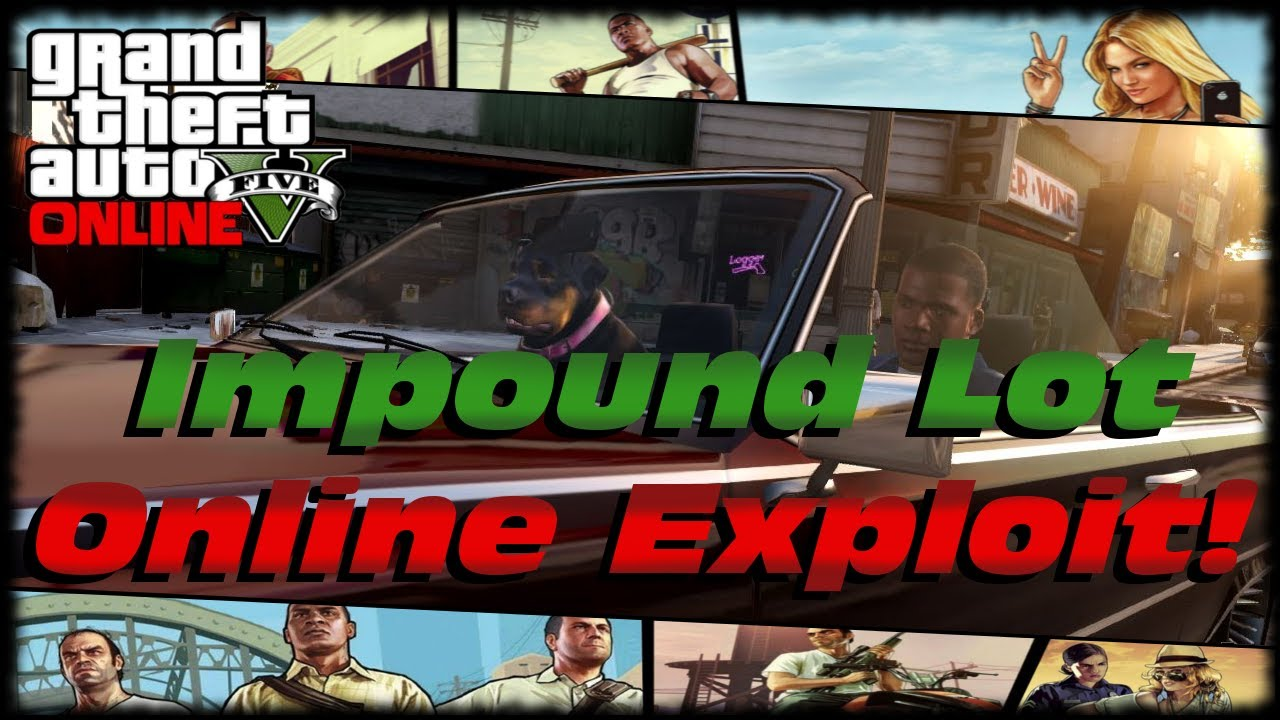 how to pay impound gta online