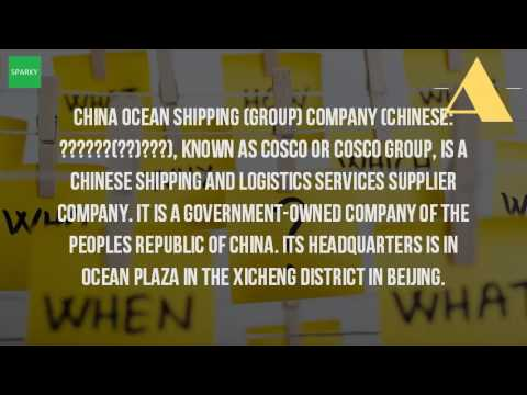 What Is Cosco Company?
