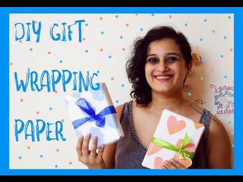 Fun DIY Gift Wrapping Paper Ideas | DIY DAY CRAFTS