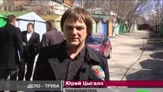 Гараж-самострой грозит коммунальным ЧП в Запорожье