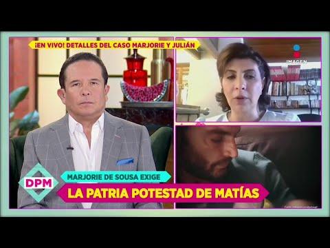 ¡Abogada de Marjorie de Sousa reta a Julián Gil comprobar amenazas y corrupción!   De Primera Mano