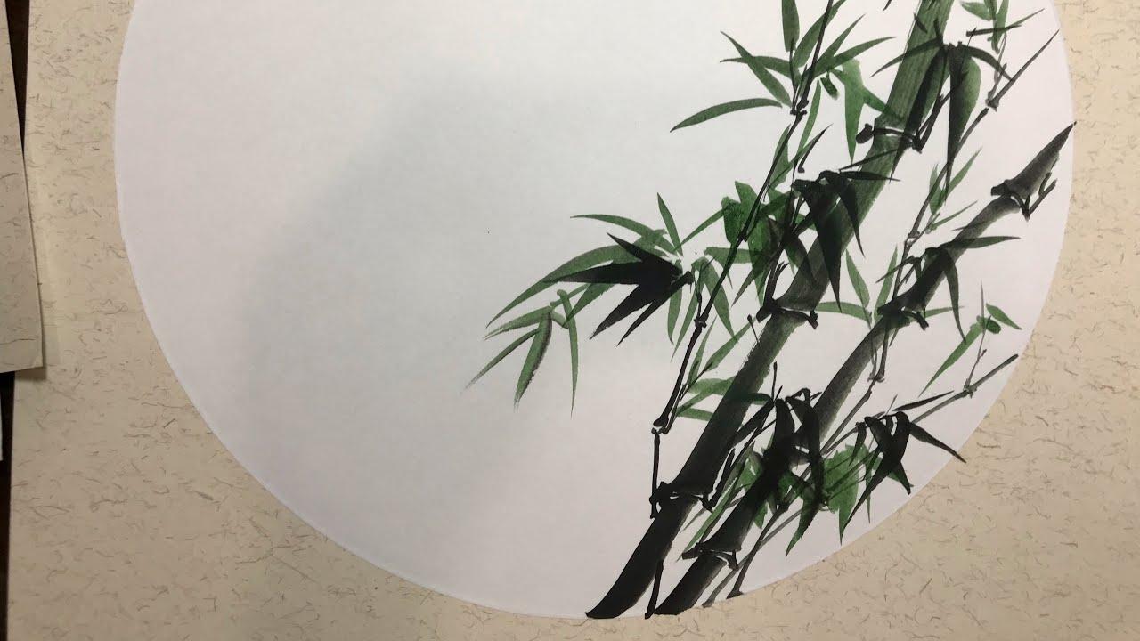 How to draw bamboo | Hướng dẫn vẽ trúc tre đơn giản | 牡竹畫法