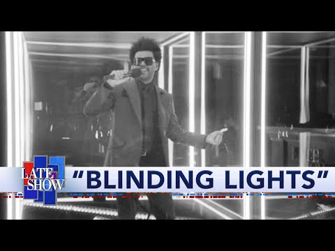 "The Weeknd - ""Blinding Lights"" Performance"