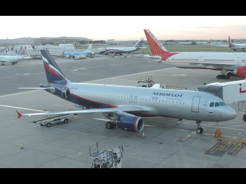 Fly London to Moscow on Aeroflot