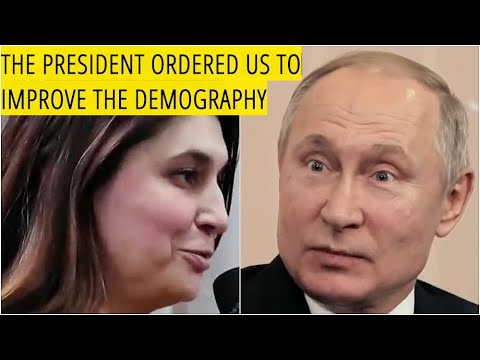 Russian Woman To Putin: My Husband Told Me To Come Home And Improve Demographics in Russia!