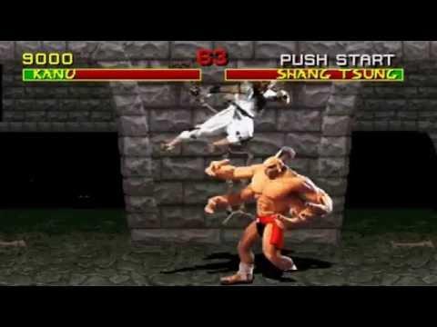 Mortal Kombat ARCADE 720P HD Playthrough with KANO