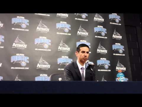 James Borrego Toronto Raptors Postgame Interview