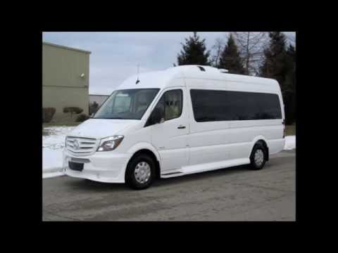 Mercedes benz sprinter executive 10 passenger van youtube for Mercedes benz sprinter passenger
