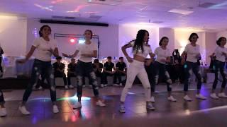 Belle's Quinceañera Surprise Dance - Como La Flor/Baila Esta Cumbia/Mi Gente