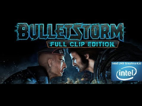 Bulletstorm Full Clip Edition (2017) Intel UHD 620, i3 8130u, 720p50