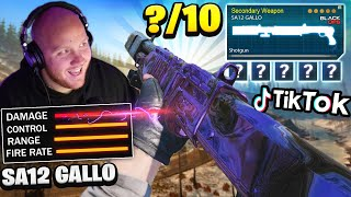 TIKTOK SA12 GALLO IS INSANE! YOU NEED TO TRY THIS! RATING WARZONE WEAPONS!