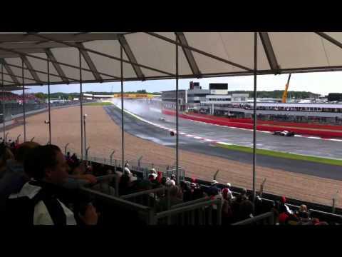 British Grand Prix 2011 Woodcote.
