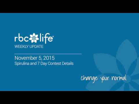RBC Life Weekly Call 11/05/15 - Spirulina and 7 Day Contest Details