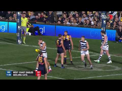 Round 13 AFL - West Coast Eagles v Geelong Cats