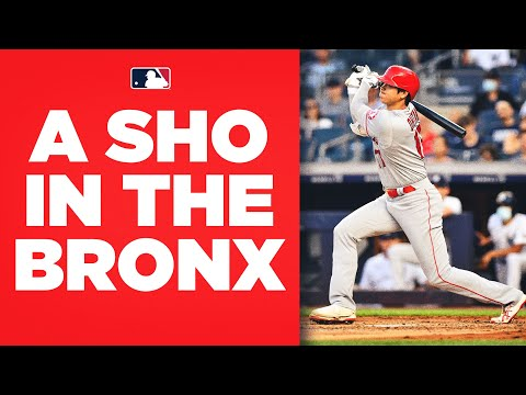 SHOHEI OHTANI GOES DEEP IN THE BRONX, AGAIN! (Re-takes the league lead in home runs with 27!)