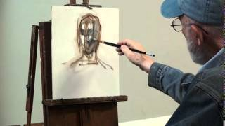 max ginsburg portrait painting demo part 1