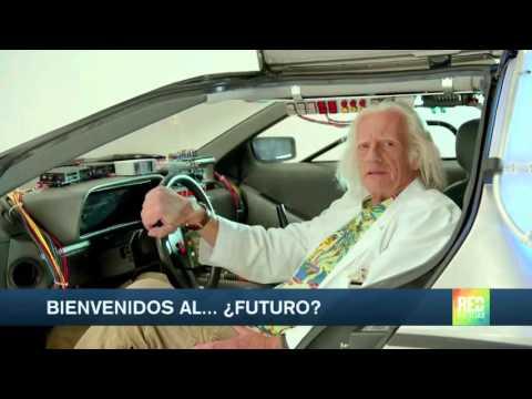 ¡Bienvenidos al futuro 'Doc' y Marty!