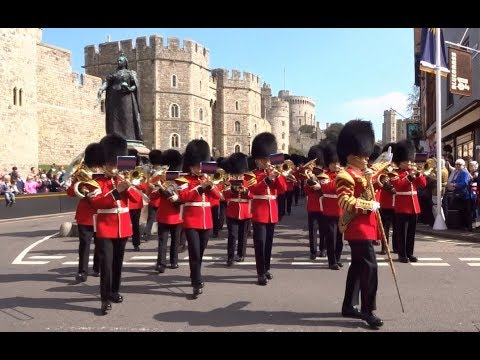 Changing the Guard at Windsor - Saturday the 14th of April 2018