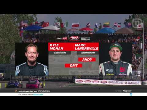Formula Drift Round 5 Montreal: Top 32 - Finals