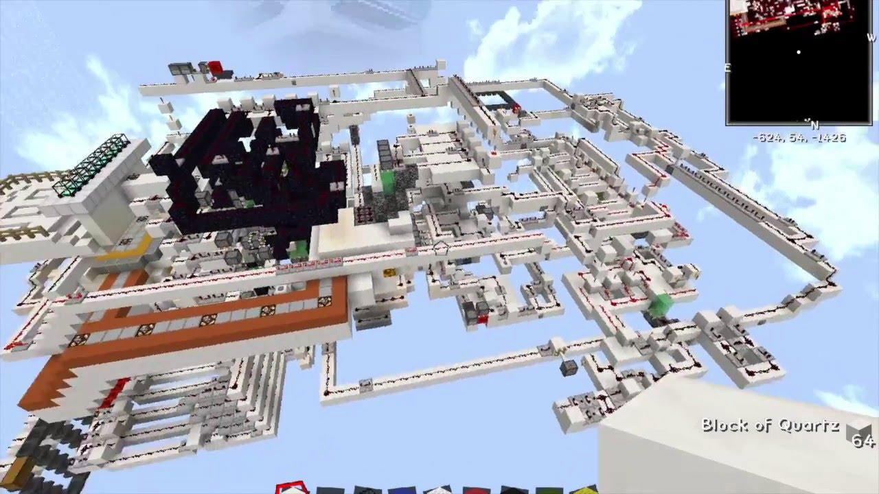 Minecraft Redstone 3d Printer 1 8 Youtube