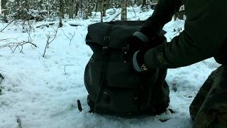 Cover images Swedish Rucksack ( Rubberized Canvas )