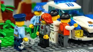 LEGO Arabalar çizgi film, Ekskavatör ve Yeni, Traktör  - Itfaiyeci oyuncak -  Excavator Toys