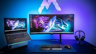My Ultimate GAMING Laptop Setup - MSI GE66 Raider