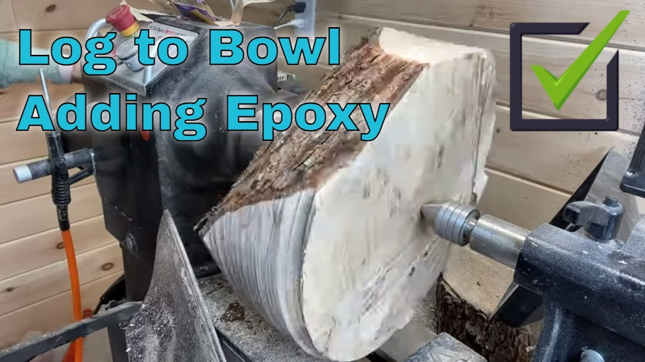 Woodturning the EYE OF THE TIGER Bowl! (Maple and Resin)