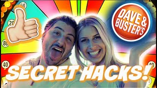 Dave And Busters Secret Game Hacks! Over 150,000 Tickets!