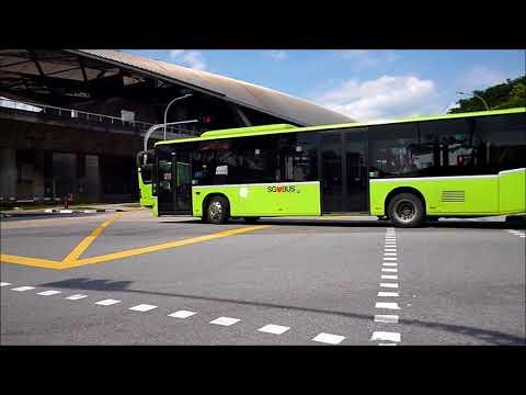 MRT Full Day Closure (Bus Shuttle Timelapse)