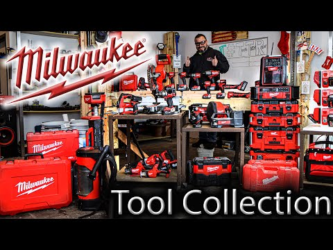 Contractor Shows Off His Insanely HUGE Milwaukee Tool Collection!