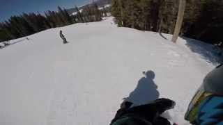 Random day at Keystone on a Snowskate