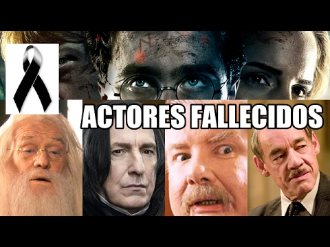 13 Actores de ''Harry Potter'' que han fallecido