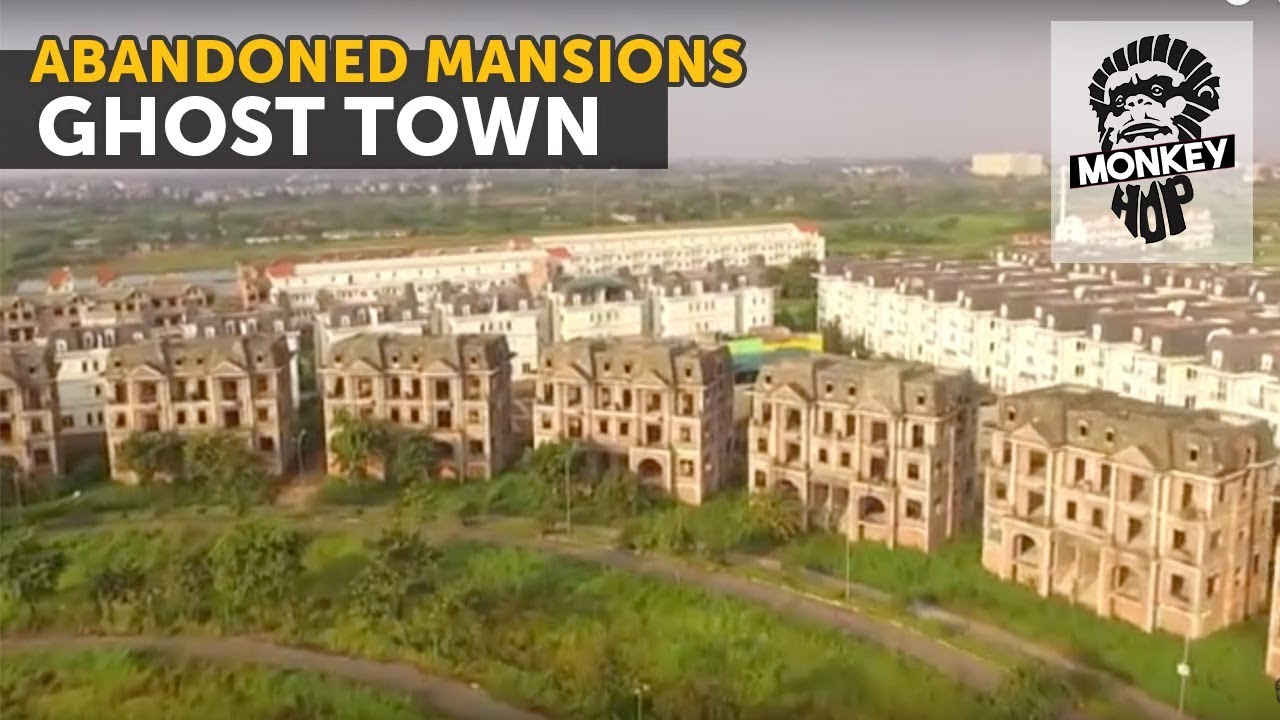 Ghost Town Abandoned Mansions Hanoi How To Travel VietNam
