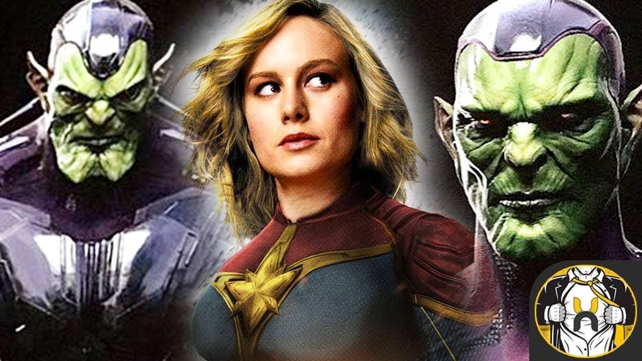 Super Skrulls Confirmed For Captain Marvel Youtube