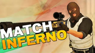 CS:GO Matchmaking Gameplay - Wettkampf auf Inferno [German]