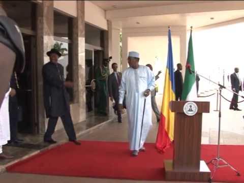 Jonathan Receives Chad President