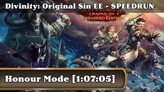 Speedrun - Divinity: Original Sin Enhanced Edition / Honour Mode (1:07:05)