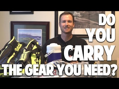 Beginner Tennis Lesson: Whats In The Bag / What You Need For A Tennis Match